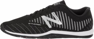 New Balance Minimus 20 v7 Trainer - Black with White (MX20BK7)