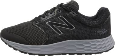 New Balance Fresh Foam 1165 - Black Black Silver White Bk (W1165BK)