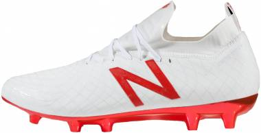 New Balance Tekela Pro Firm Ground White/Flame Orange Men