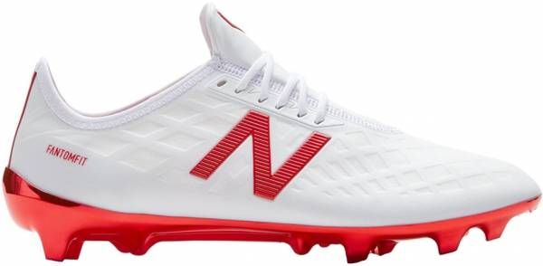 New Balance Furon 4.0 Pro Firm Ground White/Flame Orange