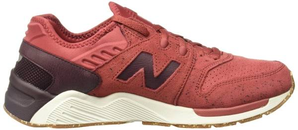 New Balance 009 Speckle Suede - Red