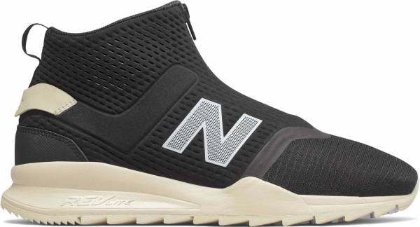 New Balance 247 Mid sneakers in black (only $110)
