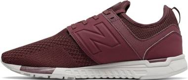 New Balance 247 Knit - Burgundy (MRL247WO)