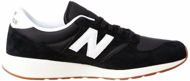 New Balance 420 Re-Engineered Suede - Black (Black Mrl420sd)