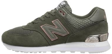 New Balance 574 All Day Rose - Green (WL574FSD)