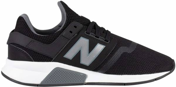 The New Balance 247 In White, Black And A Little Bit Of