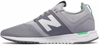 New Balance 247 Sport - Silver Mink Vivid Jade (WRL247FC)
