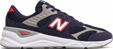 New Balance X-90 Reconstructed - White Navy Red (MSX90TB)