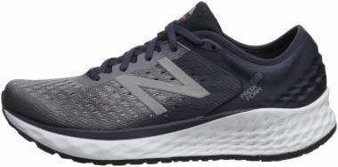 New Balance Fresh Foam 1080 v9 - Gunmetal Outerspace Energy Red