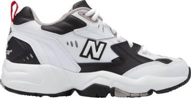 New Balance 608 v1 - White/Black/Red (WX608RB1)