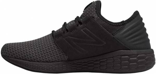 sports shoes 8bbc4 0943f New Balance Fresh Foam Cruz v2 Nubuck Black Magnet