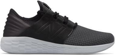 New Balance Fresh Foam Cruz v2 Nubuck - Black/Castlerock (MCRUZSK2)