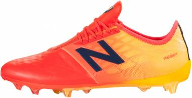 New Balance Furon V4 Pro Leather Firm Ground - Flamme