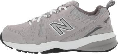 New Balance 608 v5 - Grey Suede/Grey Suede