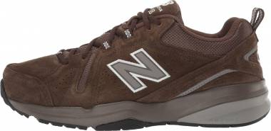 New Balance 608 v5 - Chocolate Brown/White