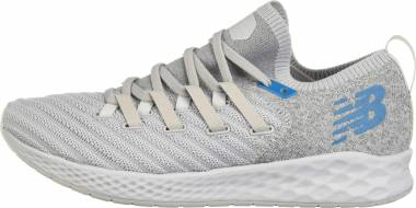 New Balance Fresh Foam Zante Trainer - Rain Cloud/Light Aluminum/Deep Ozone Blue (MXZNTLM)