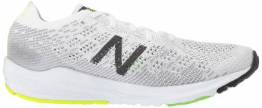 New Balance 890 v7 - White Black Rgb Green