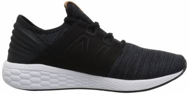 New Balance Fresh Foam Cruz v2 Knit - Black (MCRUZKB2)