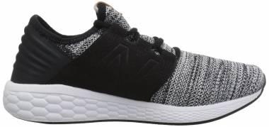 New Balance Fresh Foam Cruz v2 Knit - White/Black (MCRUZKW2)