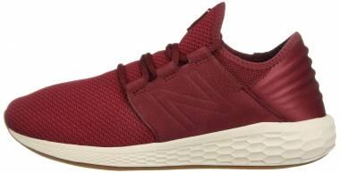 New Balance Fresh Foam Cruz v2 Knit - Red (MCRUZNR2)
