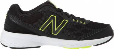 New Balance 517 - Black with Yellow (MX517BH1)