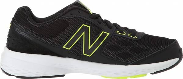 New Balance 517 - Black with Yellow (MX517BH1)