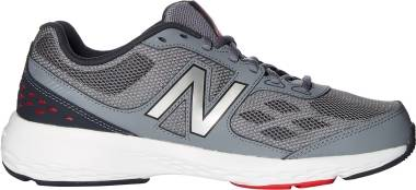 New Balance 517 - Grey/Red (MX517RB1)