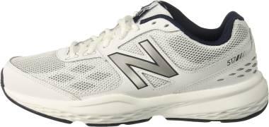 New Balance 517 - White (MX517WN1)