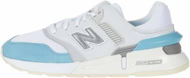New Balance 997 Sport - White / Blue (WS997GFK)