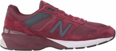 New Balance 990 v5 - Burgundy/Navy (M990BU5)