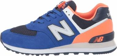 New Balance 574 Pebbled Sport - Blue (ML574SRD)