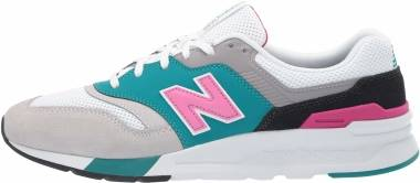 New Balance 997H - Grey / White / Pink / Black / Teal