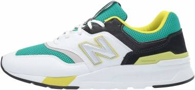 New Balance 997H - White / Green / Yellow / Black