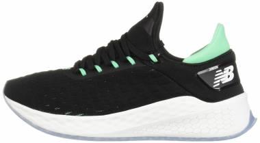 New Balance Fresh Foam Lazr v2 HypoKnit - Black (Black/Neon Emerald Lb2) (MLZHKLB2)