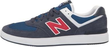 New Balance All Coasts 574 - Navy / Red (M574ANR)