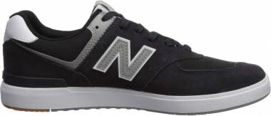 New Balance All Coasts 574 - Black/Grey (M574BKR)