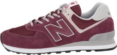 New Balance 574 v2  - Burgundy (ML574EGB)