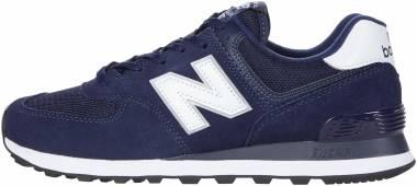 New Balance 574 v2  - Blue / White (ML574EN2)