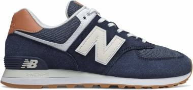 New Balance 574 v2  - Natural Indigo/Faded Mahogany (ML574TYA)