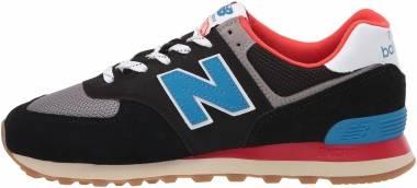 New Balance 574 v2 - Black/Neo Classic Blue (ML574SOV)