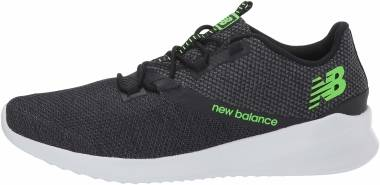 New Balance Cush+ District Run - Black/Green (MDRNSB1)