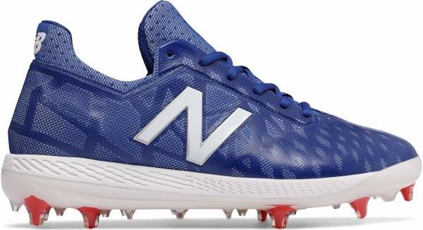 new balance baseball cleats red white and blue