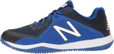 New Balance 4040v4 Turf - Black/Blue
