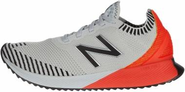 New Balance FuelCell Echo - Light Aluminum/Neo Flame (MFCECCG)