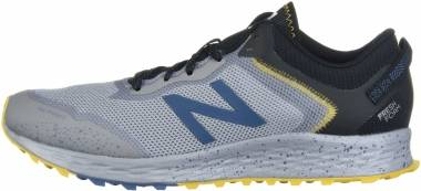 New Balance Fresh Foam Arishi Trail - Grey with Blue (MTARISS1)