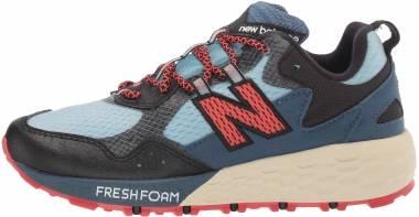 New Balance Fresh Foam Crag v2 - Blue/Black/Red