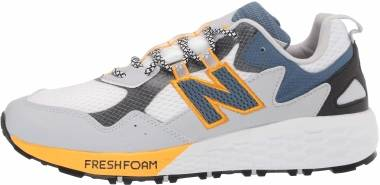 New Balance Fresh Foam Crag v2 - White Light Aluminum Chromatic Yellow