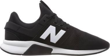 New Balance 247 v2 - Black/White Munsell