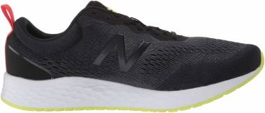 New Balance Fresh Foam Arishi v3 - Black Black White Green (MARISCH3)