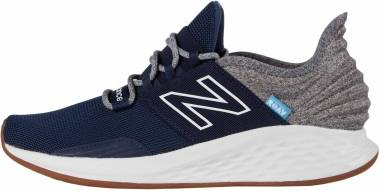 New Balance Fresh Foam Roav Tee Shirt - Indigo/Light Aluminum (MROAVTB)